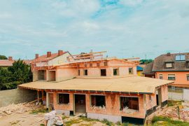 Dachstuhl Einfamilienhaus