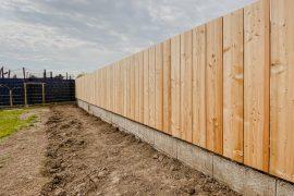 Holzzaun Sichtschutz